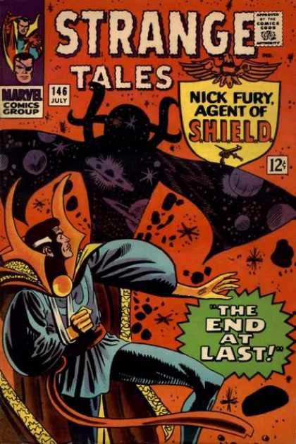 Strange Tales 146 - Marvel Comics Group - 146 July - Approved By The Comics Code Authority - The End At Last - Nick Furyagent Of Shield - Stan Goldberg