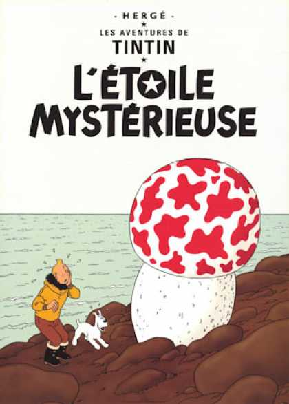 Tintin 10 - Herge - Les Adventures - Rock - Water - Letoile Mysterieuse