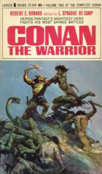 Vintage Books - Conan the Warrior - Robert Ervin Howard