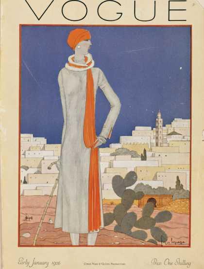 Vogue - January, 1926