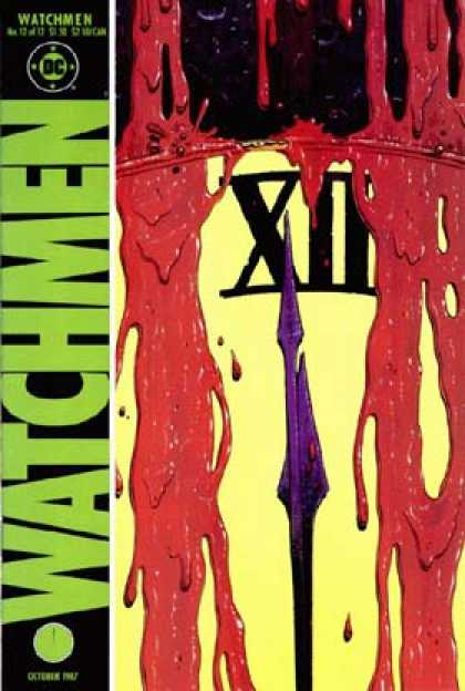Watchmen Cover 12