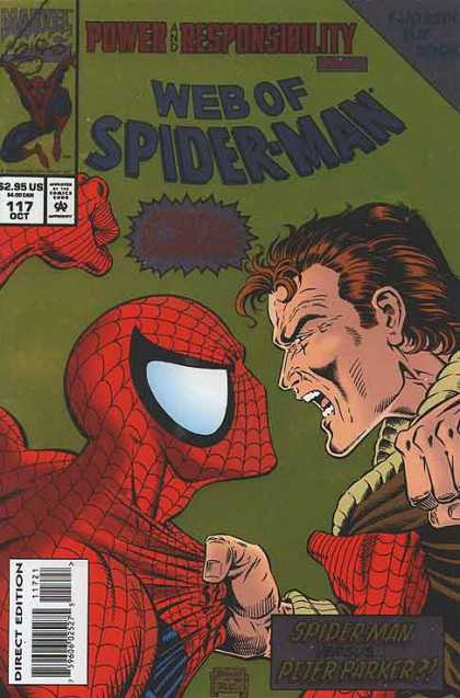 Web of Spiderman #117