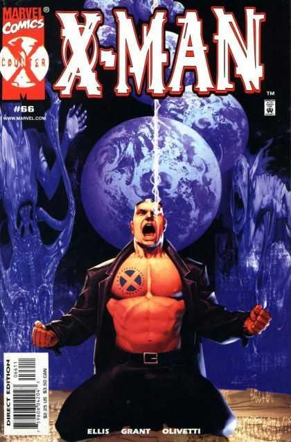 X-Man 66 - Earth - Spirits - Lightning - Tattoo - Leather