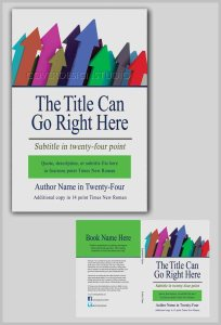 how to book cover upward pointing arrows