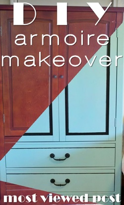DIY: Armoire Makeover