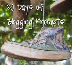 30 Days of Blogging Prompts