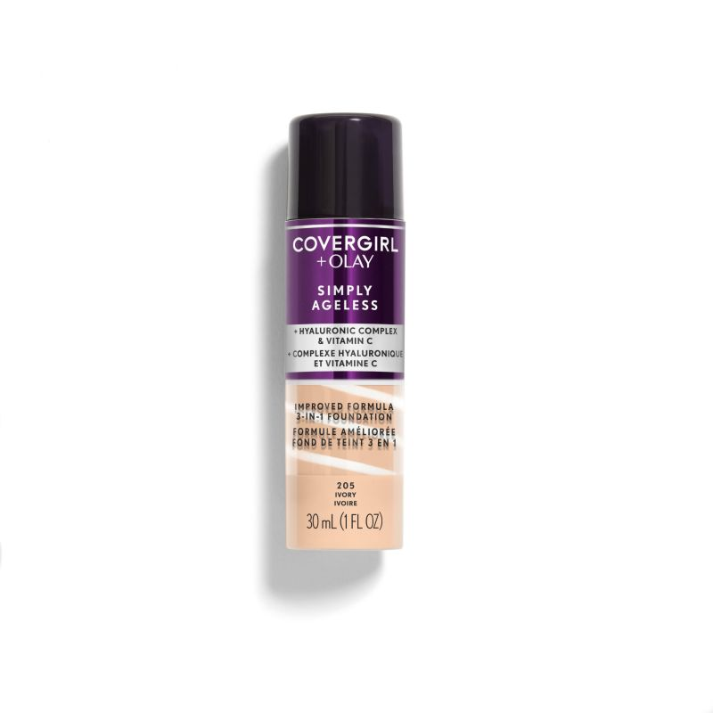 5e3387d1071 Covergirl Olay Simply Ageless 3 In 1 Liquid Foundationcovergirl