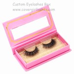 custom lashes box