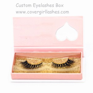 custom lashes box