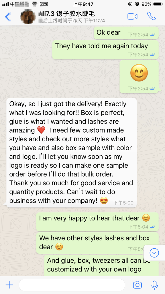 UK Customer's Review