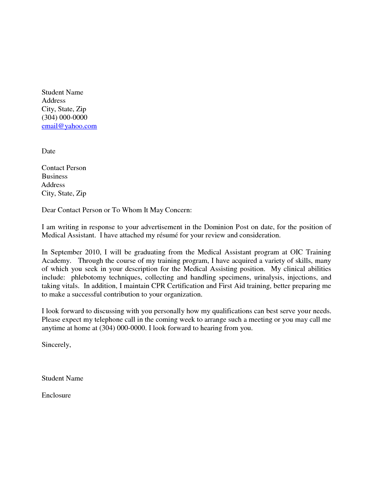 100 Email Resume Cover Letter Sample Sample Email With