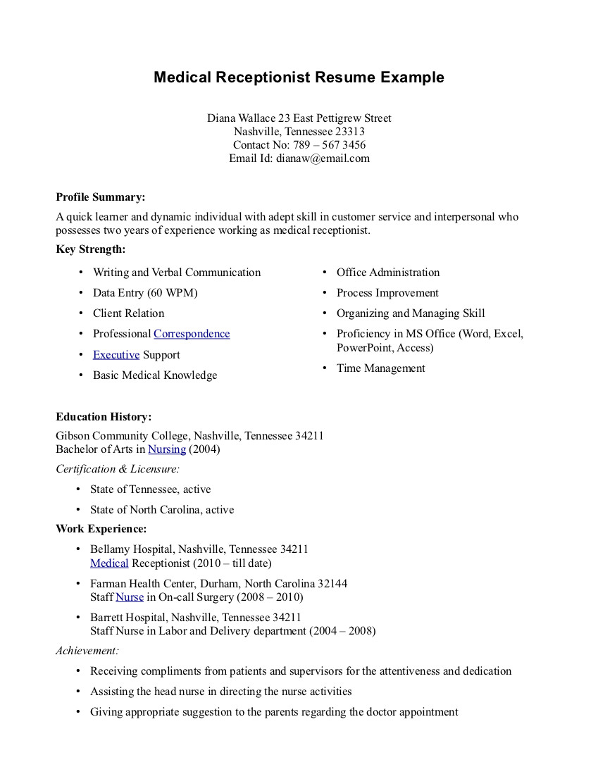 sample of cover letters for medical office position - Mersn.proforum.co