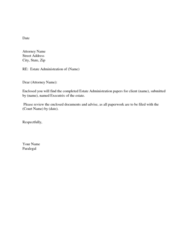 Simple Sle Cover Letters Cilook Pertaining To Email