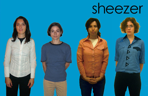 Sheezer (Blue Album)