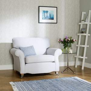 Luxury Cotton Weave - Regency Grey chair and sofa covers