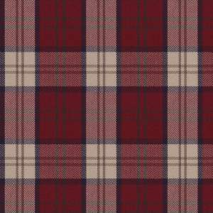 Highland Plaid - Red