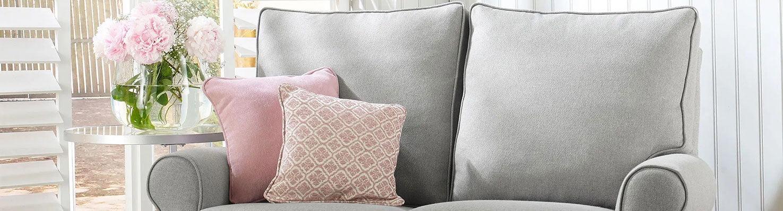 grey loose sofa cover