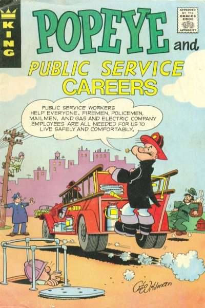 Image result for popeye comic book