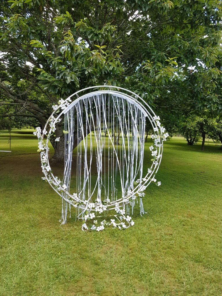 Covers Decoration Hire Circle Arch On Stand Covers