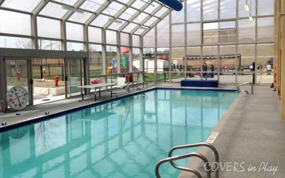 Fixed pool enclosure