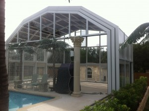 Two Story Pool Enclosure