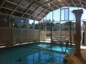 Motorized Blinds for your Pool Enclosure