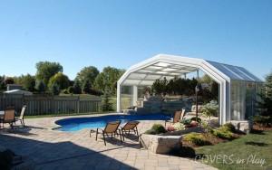Pool Enclosure Open