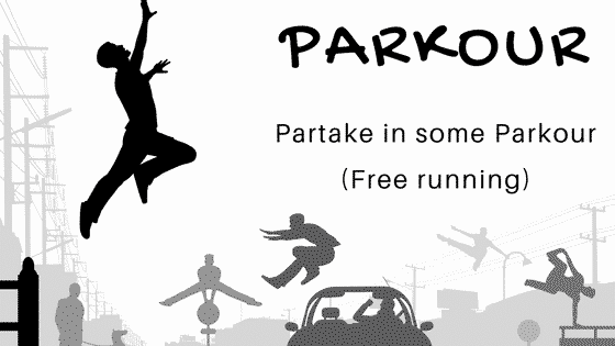 Parkour (free running Liverpool)