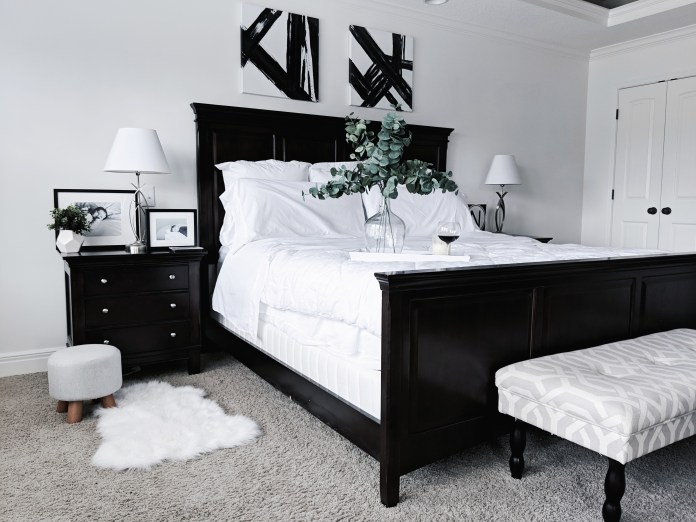 Black And White Master Bedroom Ideas Covet By Tricia