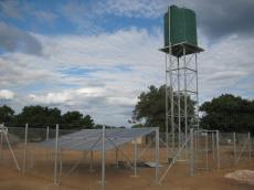 Design of a Small Scale Solar System, Mozambique