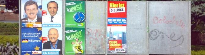 Wahlplakate Header (gemeinfrei)