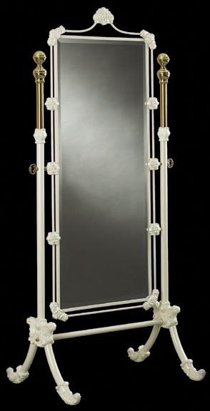 Elliott S Designs Bed Mirror Cheval Mirror Wrought Rod