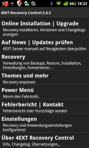 4EXT Recovery Control 1