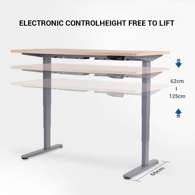 bon plan flexispot bureau mobile electrique reglable hauteur