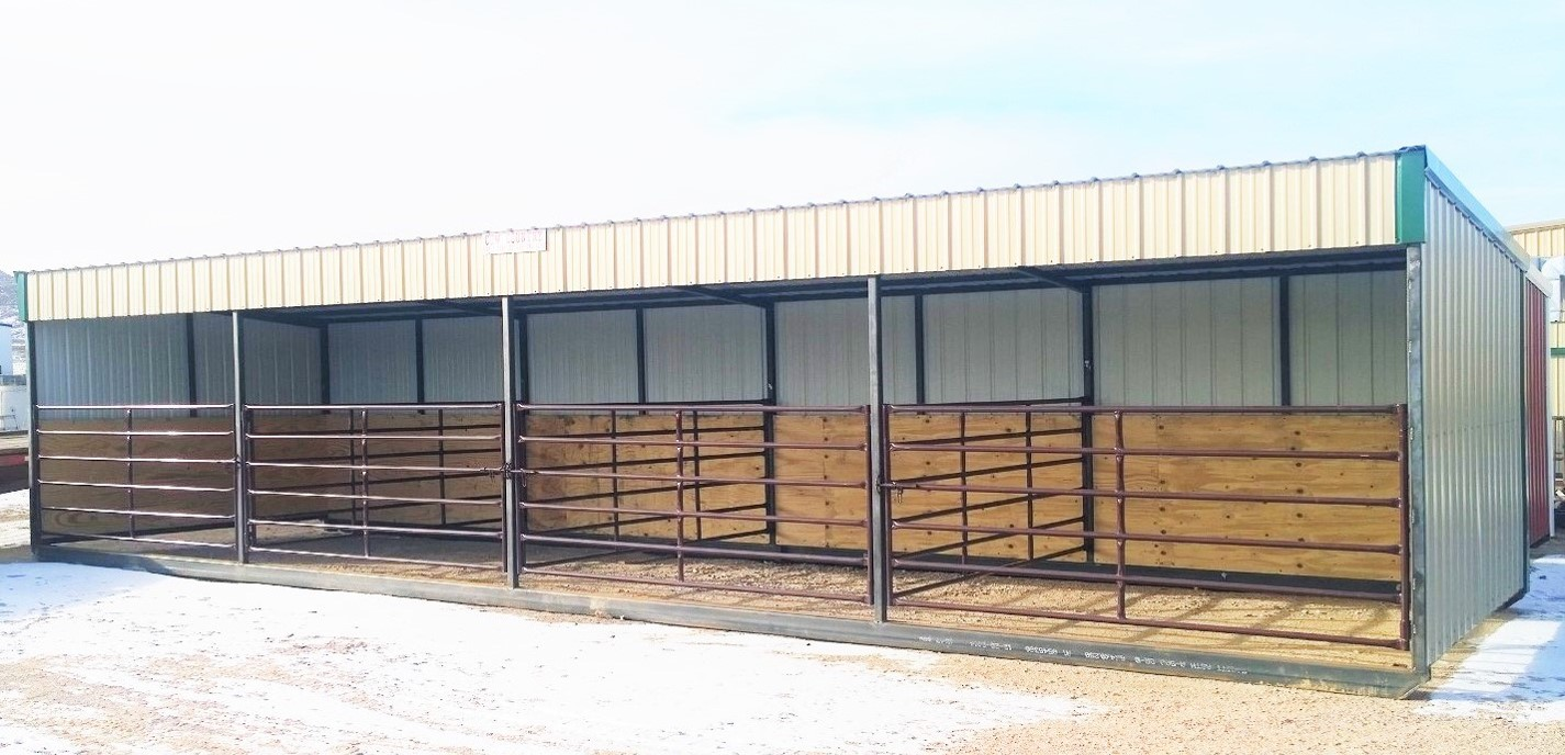 Portable Livestock Shelters