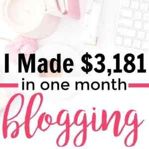 January 2017 Blogging Income Report