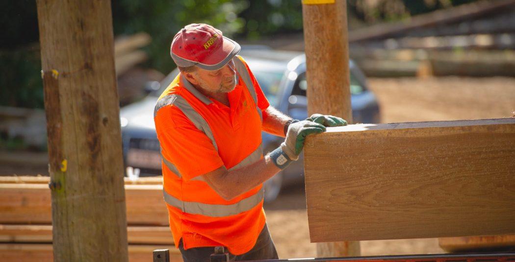 Woods sawmill