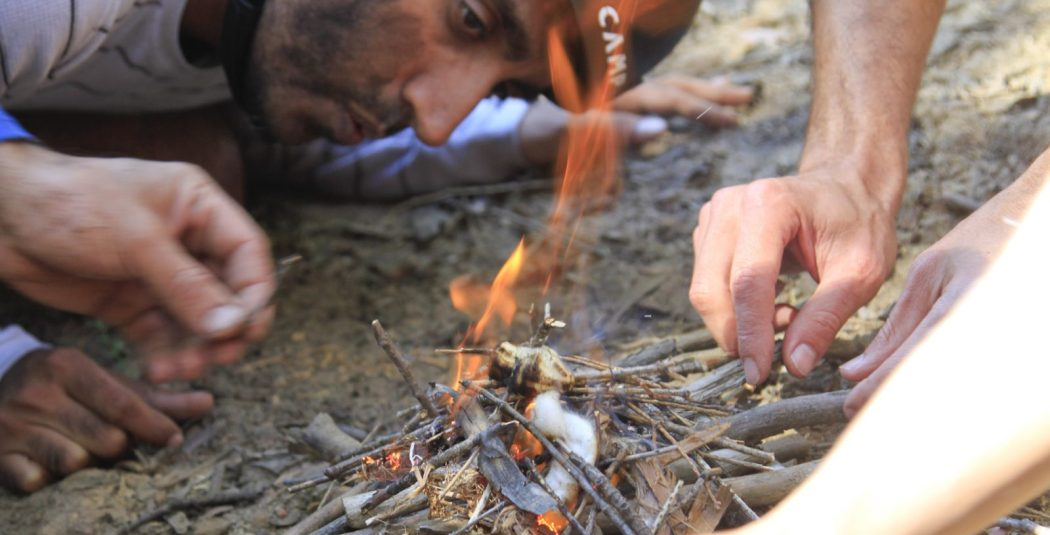 Fire - Bear Grylls