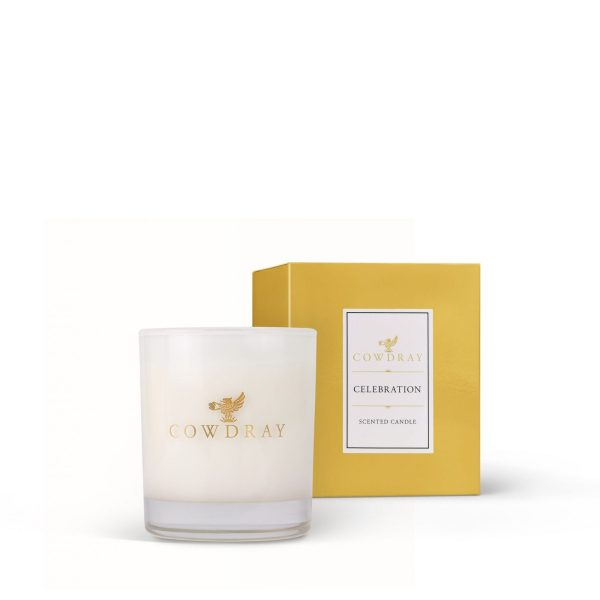 Cowdray Celebration Candle small