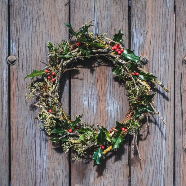 Christmas wreath - The Holly & The Ivy - Farm Shop - Cowdray Estate