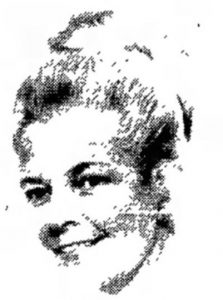 Sketch of Vesta M. Roy from 1976 political advertisement