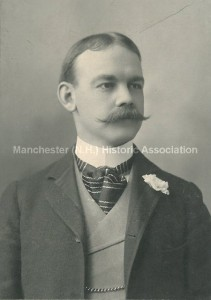 Photograph of Alfred K. Hobbs, from the Manchester Historic Association Collection. Used with permission.