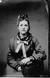Adella Brown, daughter of David & Hannah Dinsmore (Fox) Brown of Sanbornton, New Hampshire