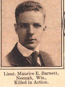 BARNETT Maurice Neenah WIS