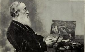Benjamin Champney, from Sixty Years' Memoris of Art and Artists, by Benjamin Champney, frontispiece. 1899