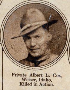 COX Albert Weiser ID