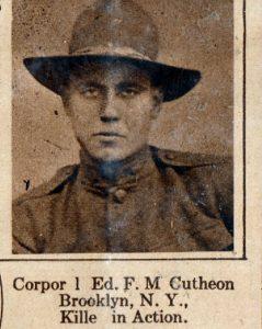 CUTHEON Ed F M brooklyn NY