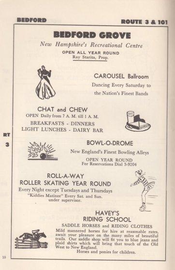 Carousel Ballroom Ad 1950s smaller