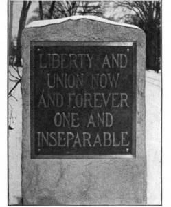 Daniel Webster monument side 2