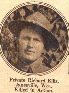 ELLIS Richard, Janesville WIS